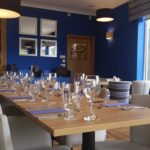Photo showing the dining room in the Ardshiel hotel